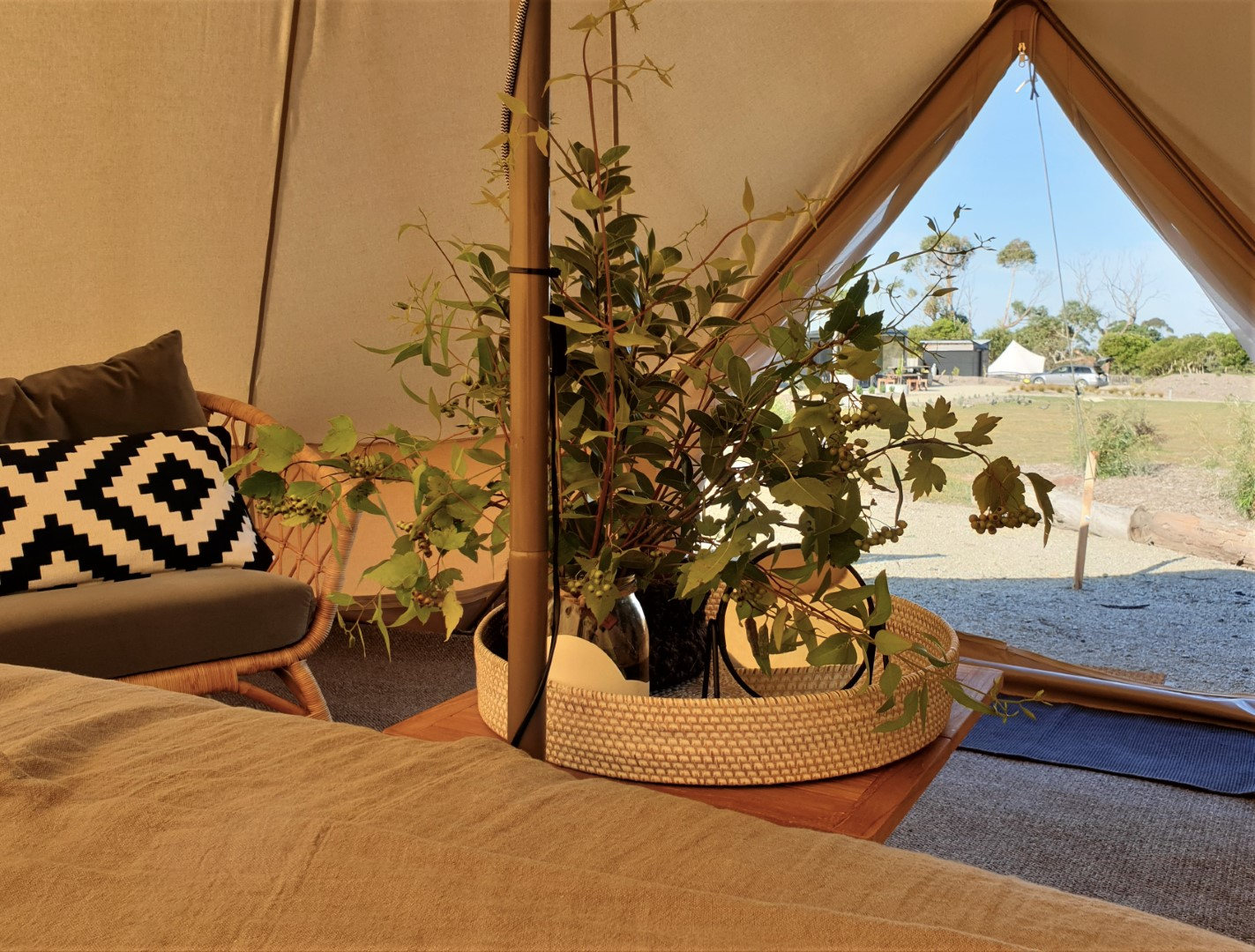 Salty Mutton Bell Tent